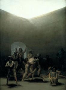 Goya Yard with Lunatics